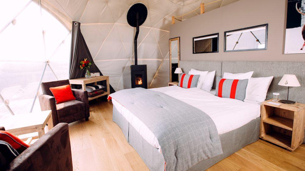 Whitepod Luxury hotel